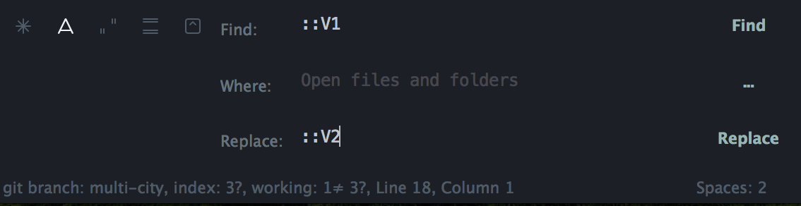Sublime Text 2 Replace